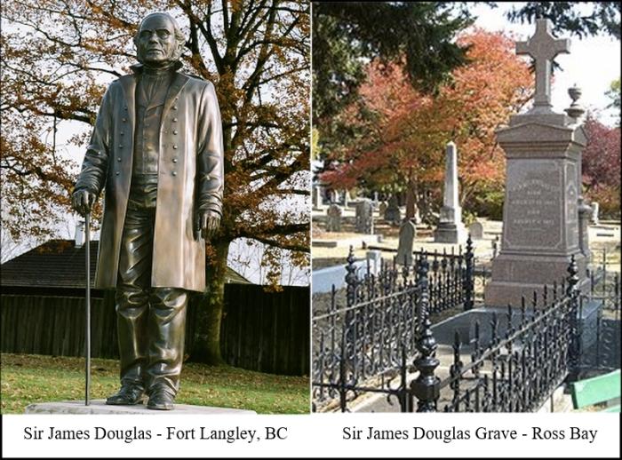 douglas-statue-and-grave
